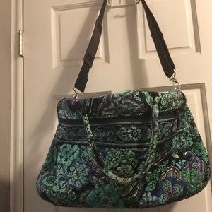 Vera Bradley Blue Rhapsody Weekender Bag